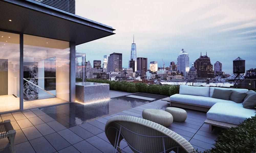 نیویارک کی بلند ترین عمارت کا پُرتعیش پینٹ ہاؤس