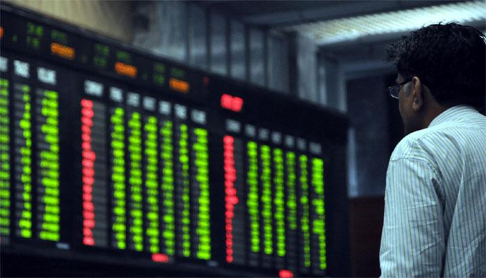 اسٹاک مارکیٹ 5برس میں پہلی بار ساڑھے 29ہزار سے نیچے