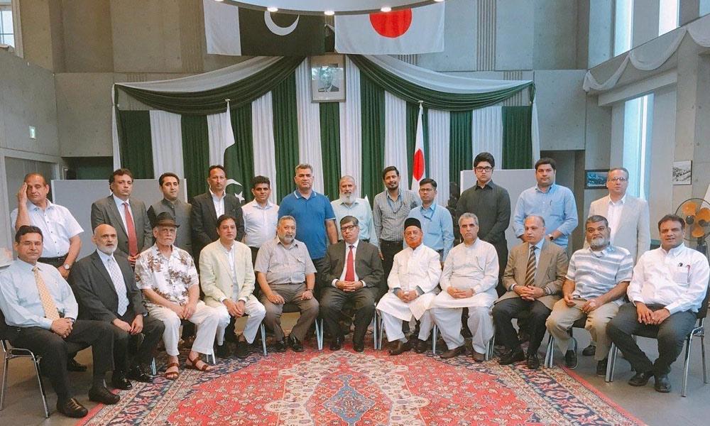 اوور سیز پاکستانی ہمارا اثاثہ ہیں، سفیر پاکستان، امتیاز احمد کمیونٹی میٹنگ سے خطاب
