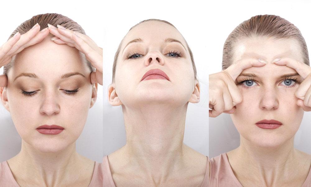 چہرے کے مسلز کی ورزش