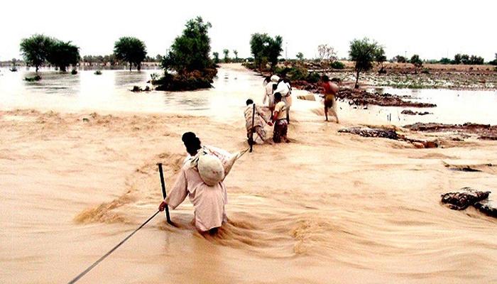 کوہ سلیمان پر بارش کے بعد سیلابی صورتحال