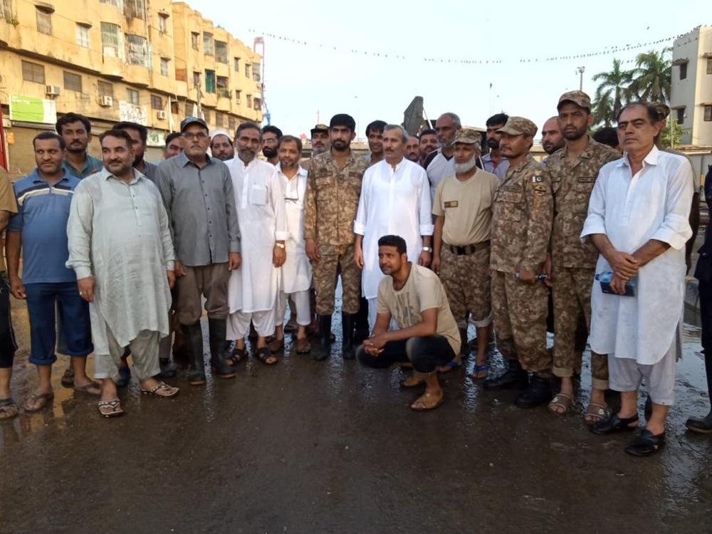 پاک فوج کی خدمات لائق تحسین ہیں، علی زیدی
