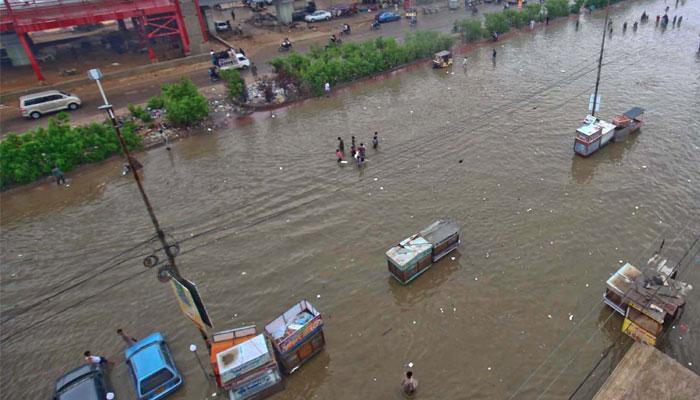 کراچی میں جمعرات سے ہفتے تک پھر بارش کا امکان