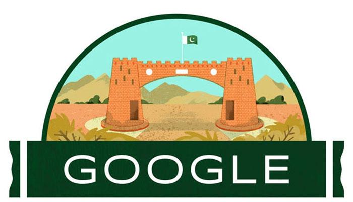 یومِ آزادی پر گوگل ڈوڈل بھی پاکستان کے نام