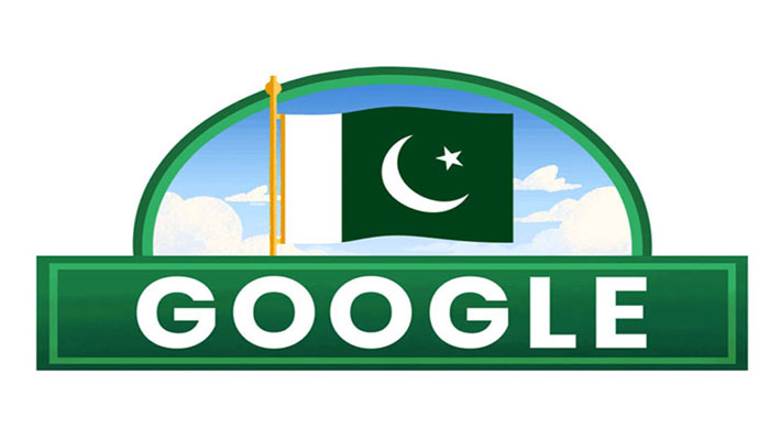 یومِ آزادی: گوگل ڈوڈل بھی پاکستان کے نام