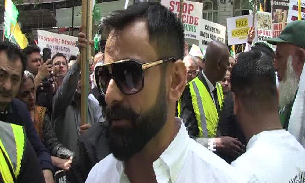 ہر پاکستانی کا دل کشمیریوں کے ساتھ دھڑکتا ہے: محمد حفیظ
