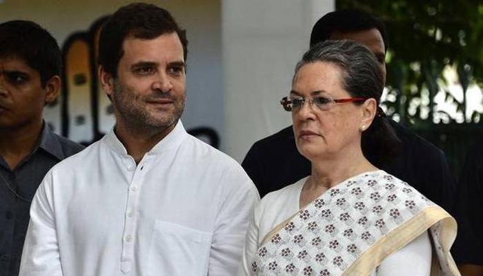 سونیا، راہول سرکاری تقریب میں شریک نہ ہوئے