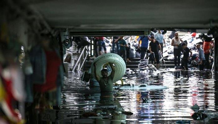 ترکی میں شدید بارشیں، کاروبار زندگی معطل، ایک شخص ہلاک