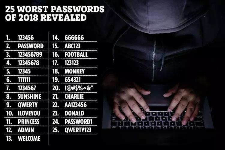 لاکھوں ویب سائٹس کے اربوں پاس ورڈز چوری
