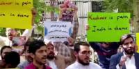 Iran Protesters Demand Un Listen To The Plight Of Kashmiris