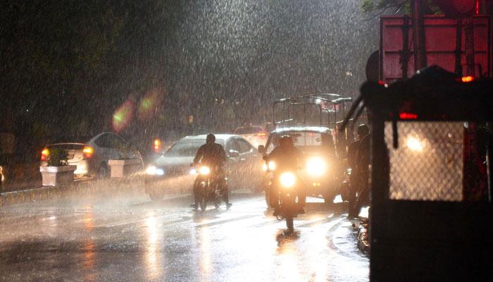 پنجاب میں گرج چمک کے ساتھ بارش