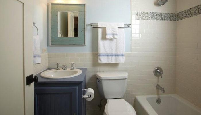 چھوٹے باتھ روم کیلئے بڑے آئیڈیاز