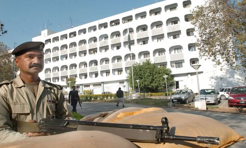 بھارتی ڈپٹی ہائی کمشنر کی دفتر خارجہ میں پھر طلبی