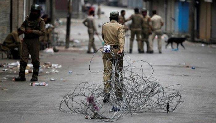 بھارت مقبوضہ کشمیر میں بڑے پیمانے پر نسل کشی کرنے جا رہا ہے، حریت رہنما