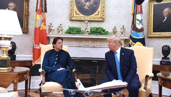 کشمیر تنازع: ٹرمپ اور عمران خان کا پھر رابطہ