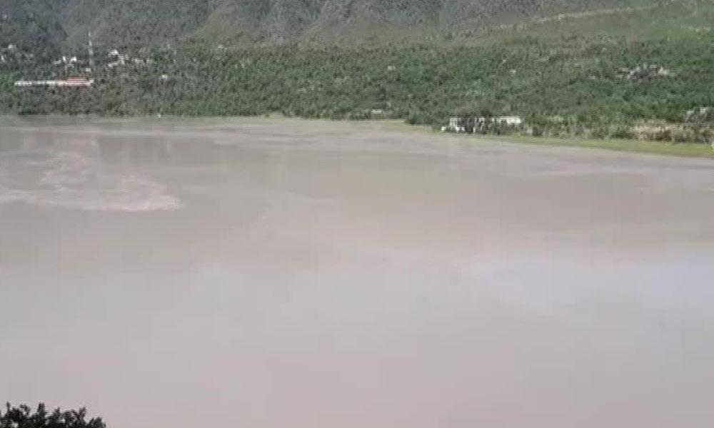 تربیلا ڈیم میں پانی انتہائی سطح تک پہنچ گیا