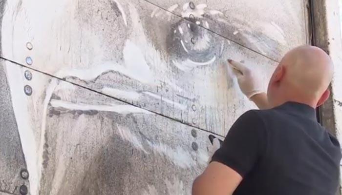 دھو ل مٹی سے خو بصورت مناظر تخلیق کرنیوالامصور