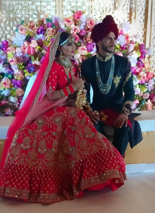 حسن علی اور سامعہ شادی کے بندھن میں بندھ گئے