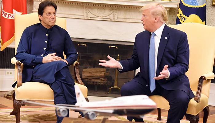 ٹرمپ کی ایک بار پھر مسئلہ کشمیر پر ثا لثی کی پیشکش