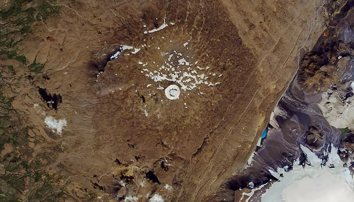 آئس لینڈ، 700 سال پرانے گلیشیر کیلئے تقریب