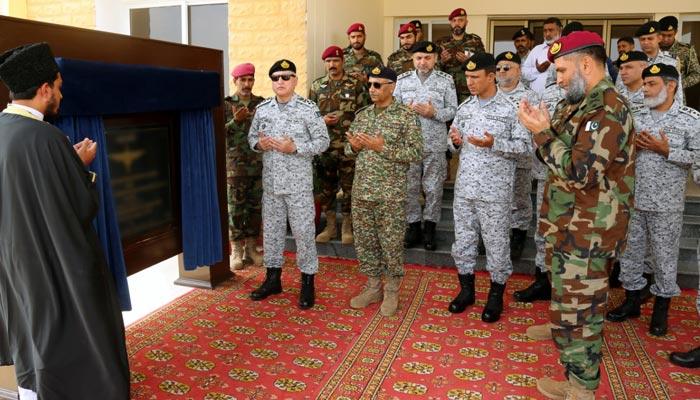 پاک بحریہ کے اسپیشل سروس آپریشنل ٹریننگ سینٹر کا افتتاح