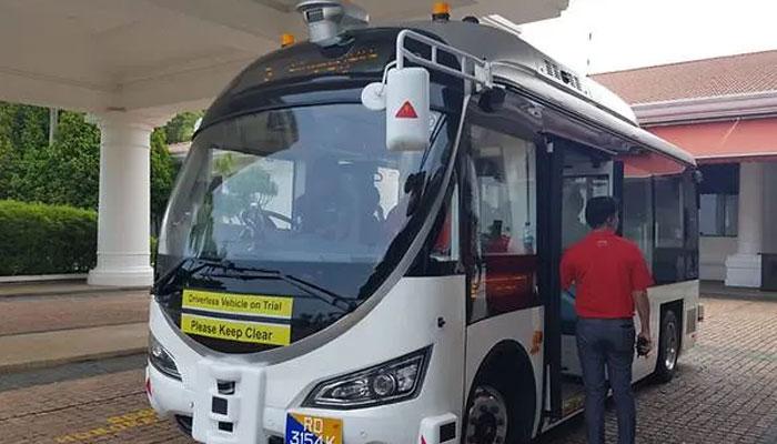 سنگاپور : بنا ڈرائیور بسوں کا عوامی ٹرائل اگلے ہفتے شروع ہوگا
