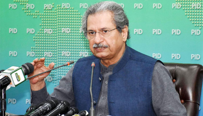 شفقت محمود کا یکساں نصاب لانے کا اعلان