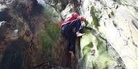 Spiderwoman Scales 80m Cliff