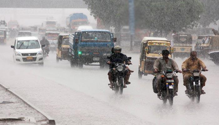 کراچی میں آئندہ ہفتے بارش کا امکان