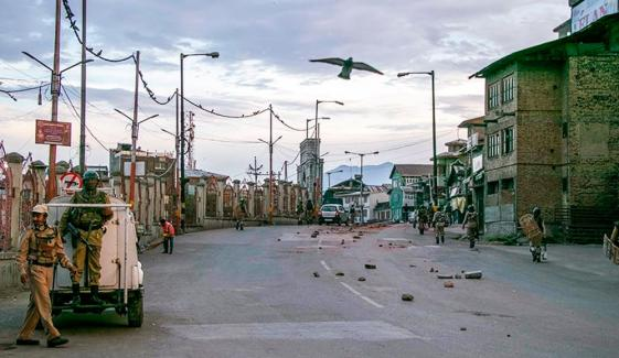 18th Day Of Curfew In Indian Occupied Kashmir