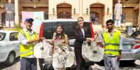 German Embassy Staff Distributes Cloth Bags In Islamabad After Plastic Ban