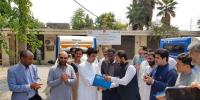 Two Mobile Laboratory Given By Unicef Received Kpk Government