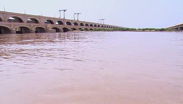 دریائے سندھ میں پانی کی بلند سطح برقرار