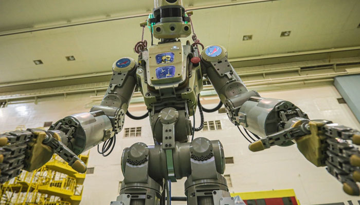 روس نےانسان نما روبوٹ خلا میں بھیج دیا