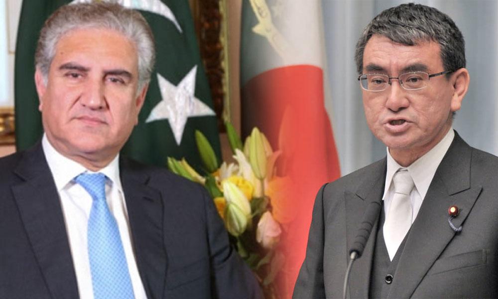 وزیر خارجہ کا مسئلہ کشمیر پر جاپانی ہم منصب سے ٹیلیفونک رابطہ