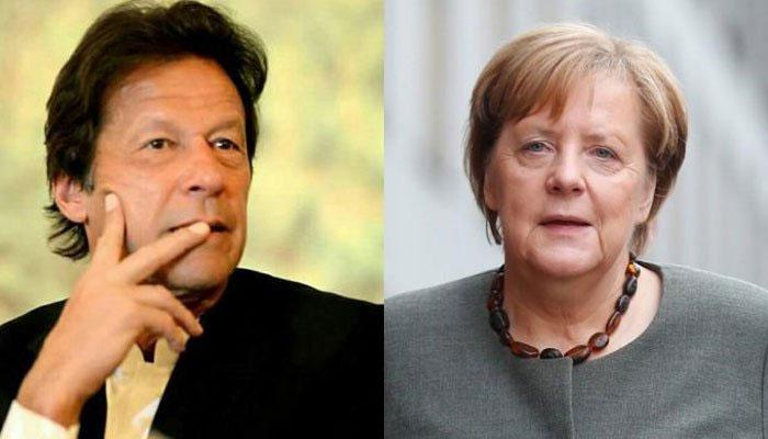 عمران خان کا انجیلا مرکل سے ٹیلی فونک رابطہ