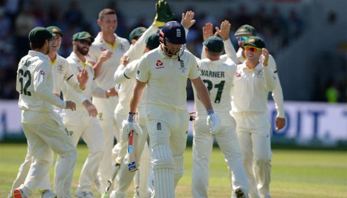 ایشز سیریز کا تیسرا ٹیسٹ: انگلینڈ پہلی اننگز میں 67رنز پر ڈھیر