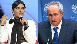 Priyanka Has The Right To Speak In Personal Capacity Unicef