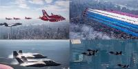 International Military Air Show In New York