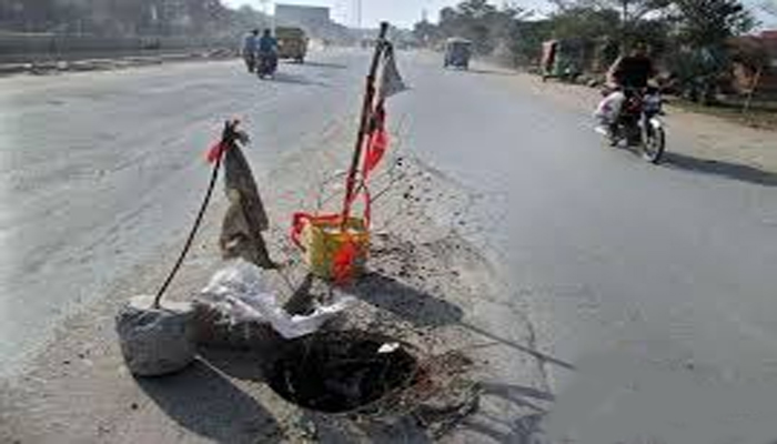 کراچی،کھلے مین ہول میں گر کے 5 سالہ بچہ جاں بحق