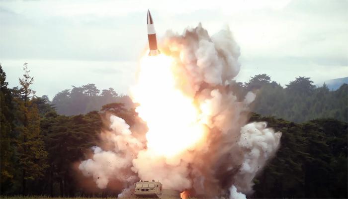 شمالی کوریا کا شارٹ رینج بیلسٹک میزائلز کا تجربہ