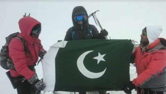 پاکستانی نوجوان نے یورپ کی بلند ترین چوٹی سر کر لی