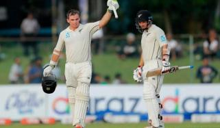 New Zealand 196 For 4 At Stumps Against Sri Lanka In Colombo Test