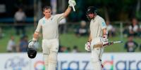 New Zealand 196 For 4 At Stumps Against Sri Lanka In Colombo Test