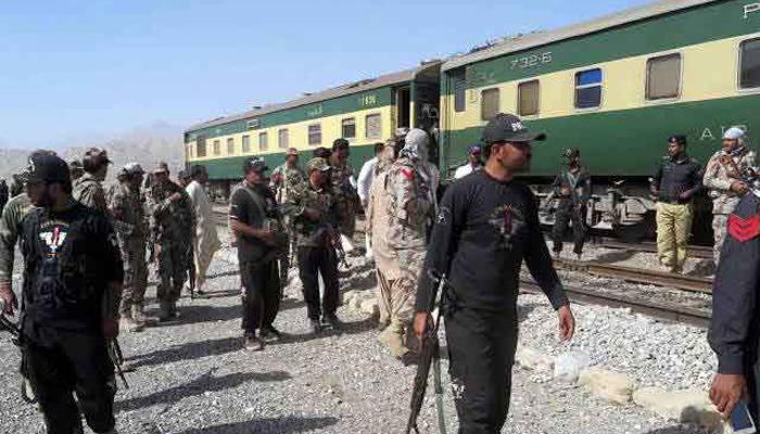 بلوچستان، ریلوے اسٹیشنز ، ٹریک پر سیکیورٹی ہائی الرٹ