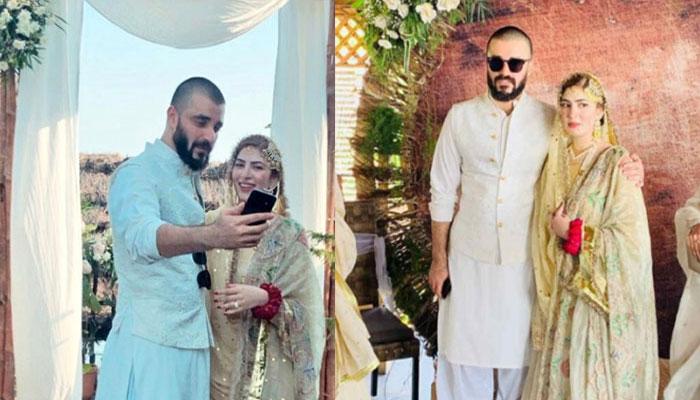 حمزہ عباسی، نمل خاور رشتہ ازدواج میں منسلک