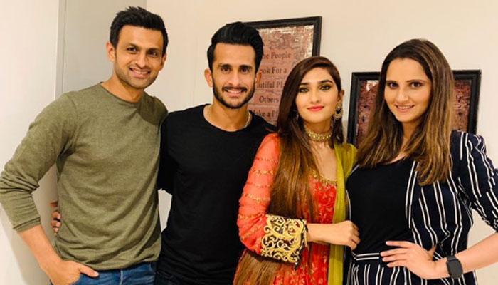شعیب ،ثانیہ کے گھر حسن علی اور سامیعہ کی پہلی دعوت