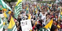 Protests Against India In Karachi