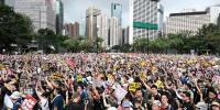 Hong Kong Protest Against Government
