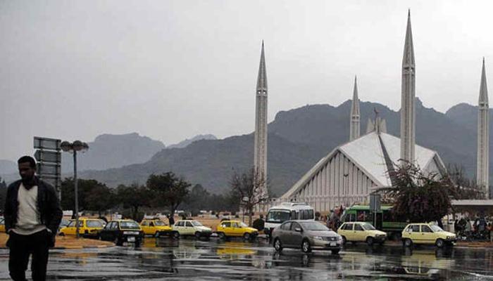 اسلام آباد میں بارش سے موسم خوشگوار